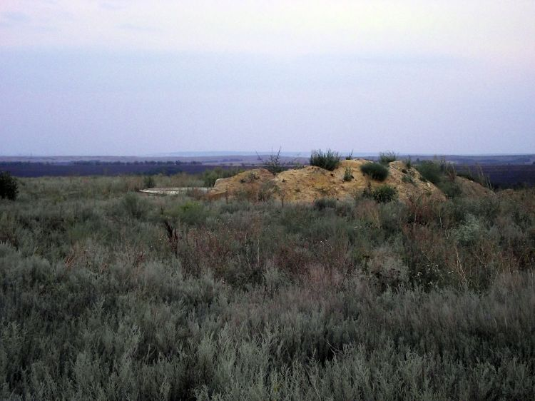 Демонтированная шахтная пусковая установка (ШПУ)